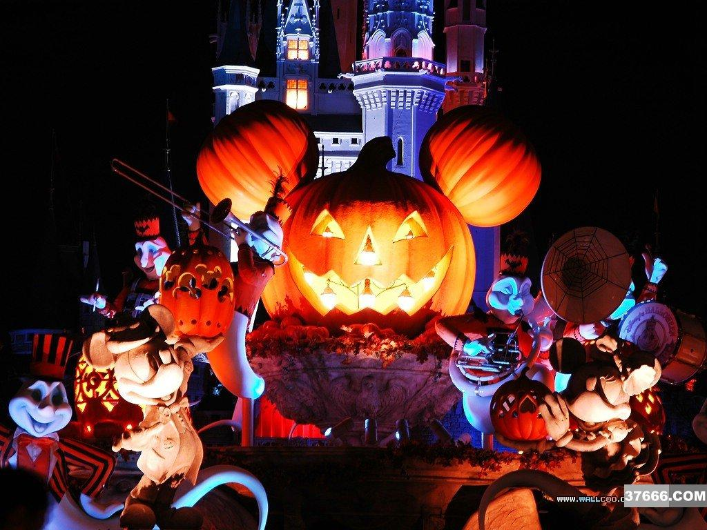 The Walt Disney World Picture of the Day Halloween Week 2010   Mickey 1024x768