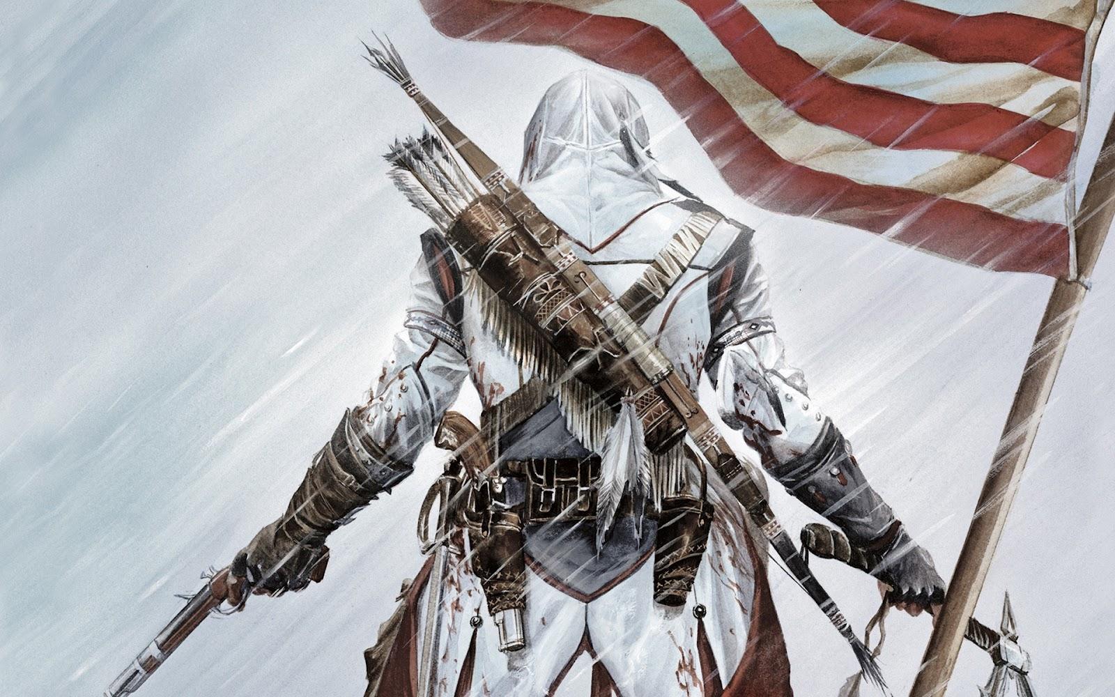 Wallpapers   Assassins Creed III   HD   Taringa 1600x1000