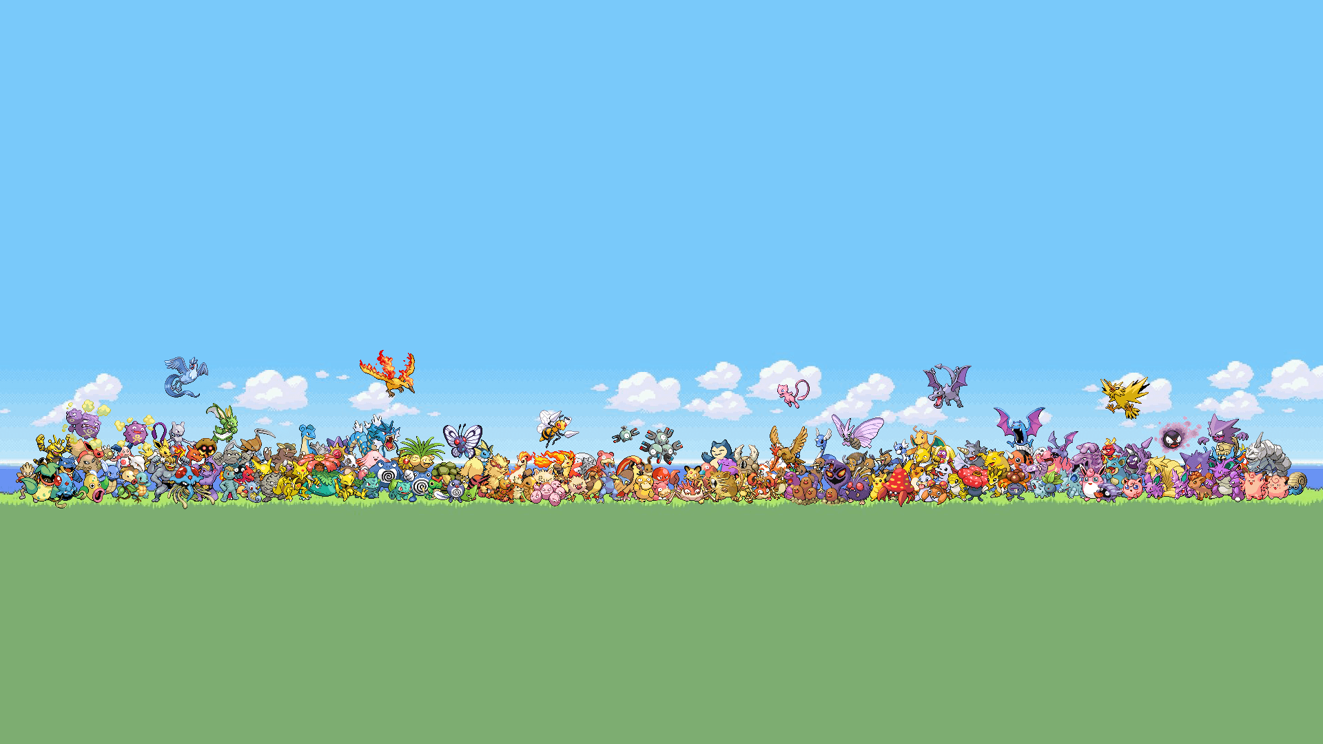 Original Pokemon Wallpapers 1920x1080