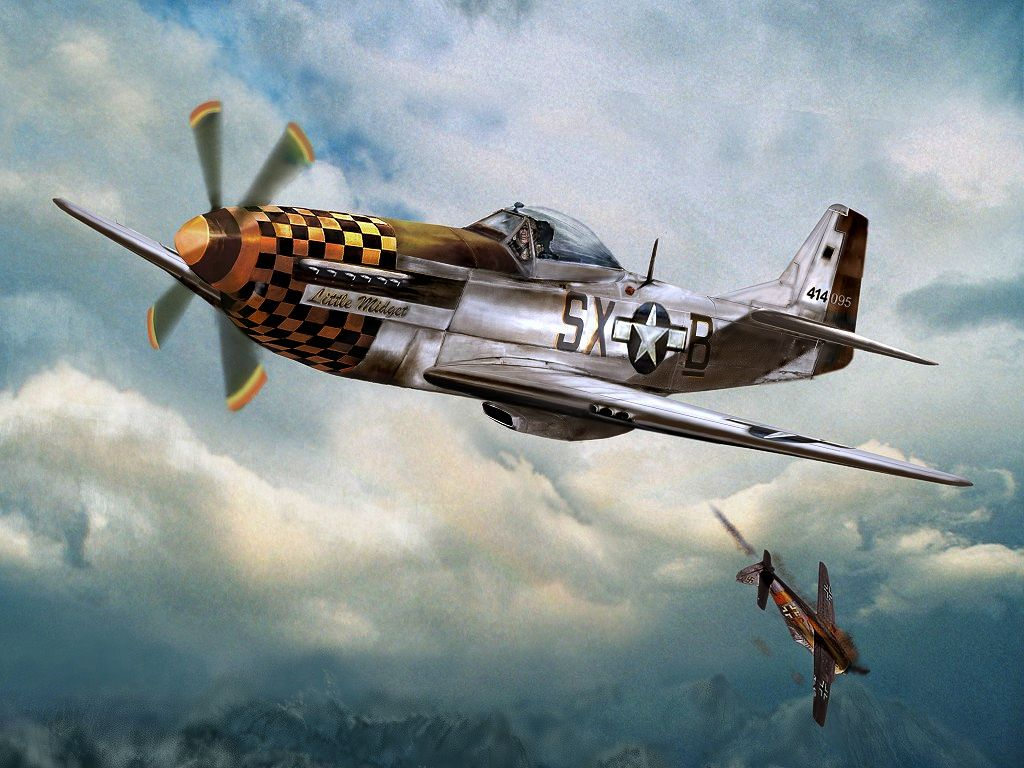 artistic planes p 51 mustang HD Wallpaper   Cars Trucks 432942 1024x768