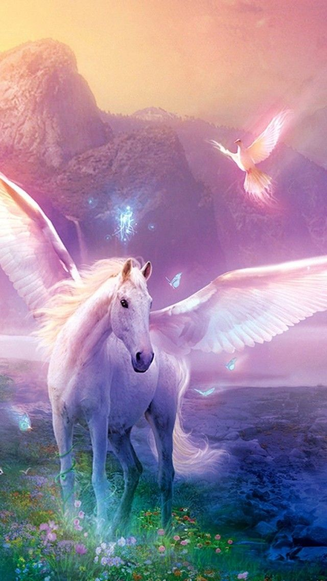Unicorn iPhone Wallpaper - WallpaperSafari