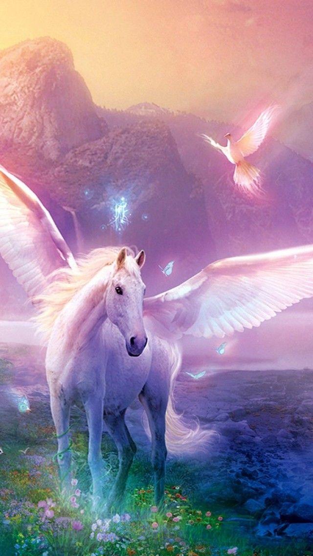 Unicorn iPhone Wallpaper - WallpaperSafari