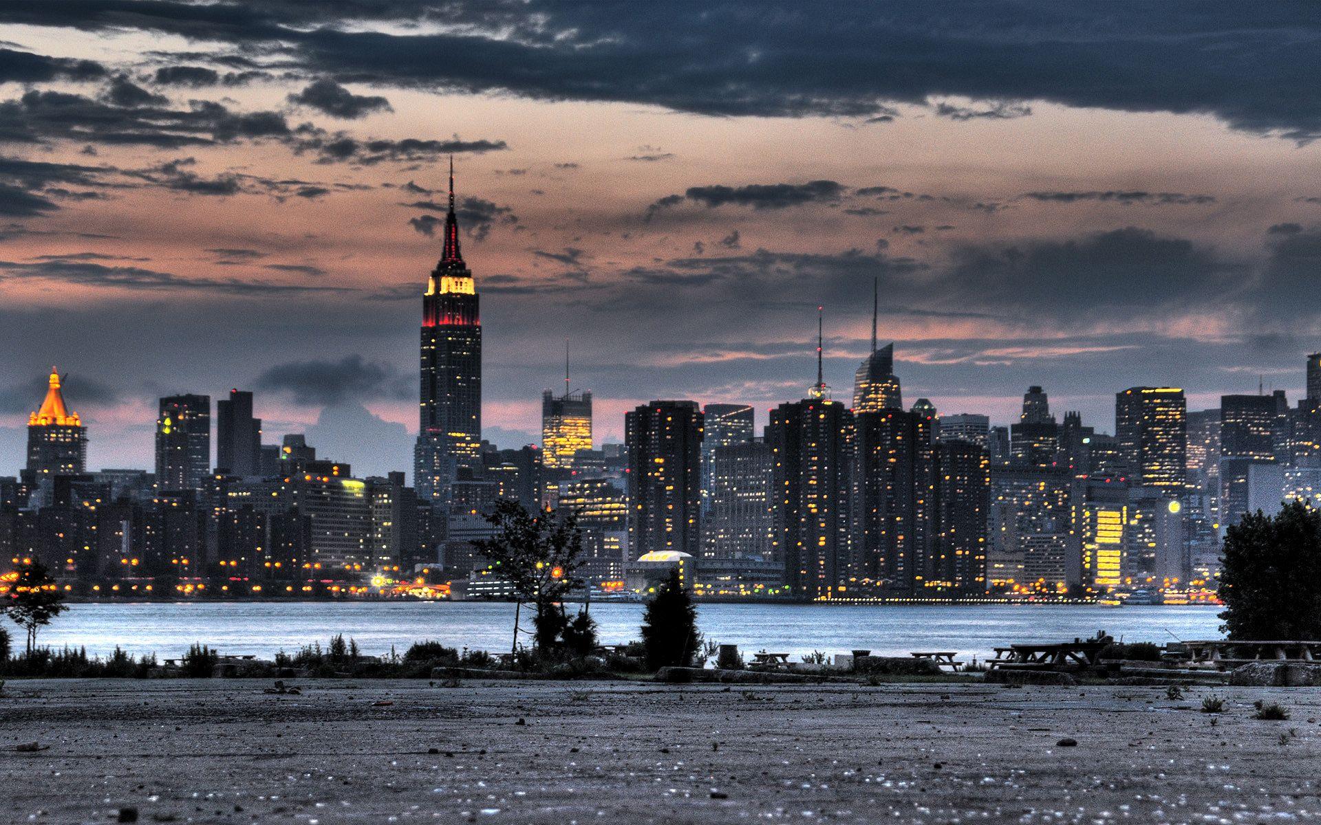 Pics Photos   New York Skyline Wallpaper Hd Wallpaper Of City 1920x1200