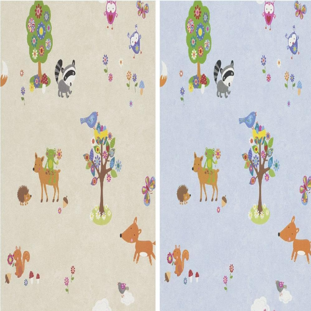 Woodland Nursery Wallpaper Wallpapersafari