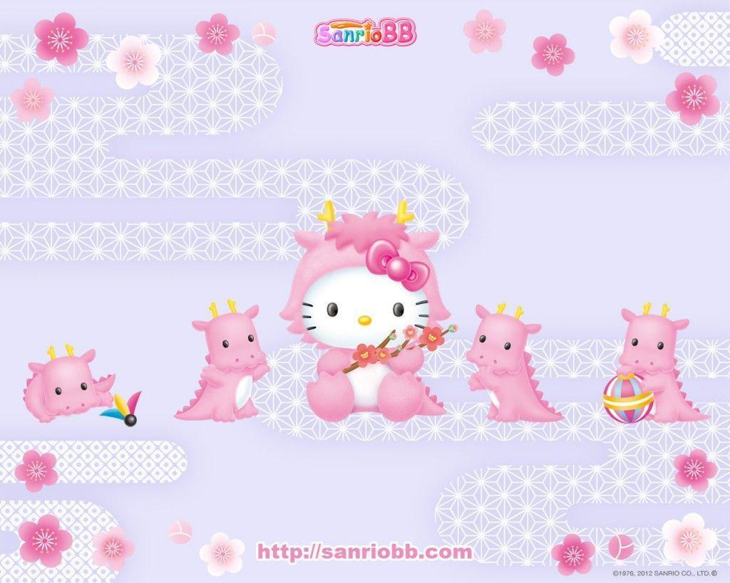 Cute Hello Kitty Wallpapers 1024x819