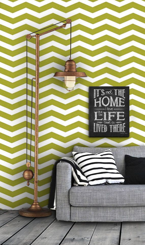 Geometric Chevron Pattern Self Adhesive Vinyl Wallpaper D035 570x965