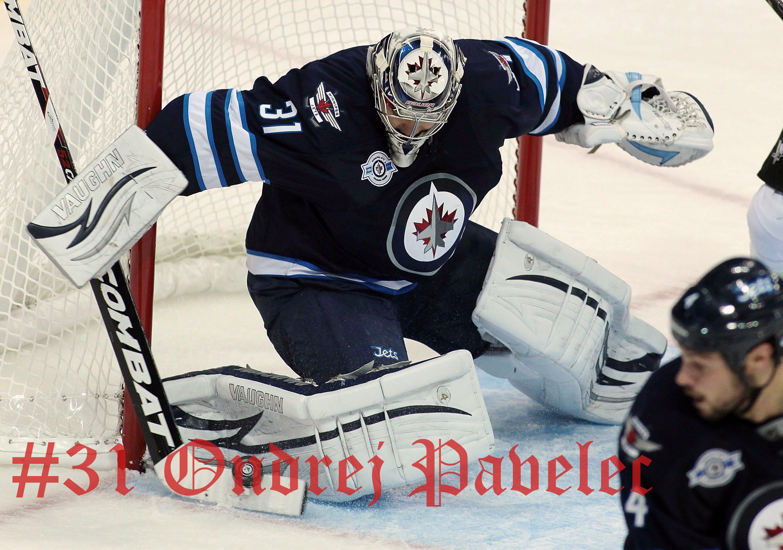 Ondrej Pavelec Winnipeg Jets Wallpaper 30002105 179554 HD Wallpaper 3000x2105