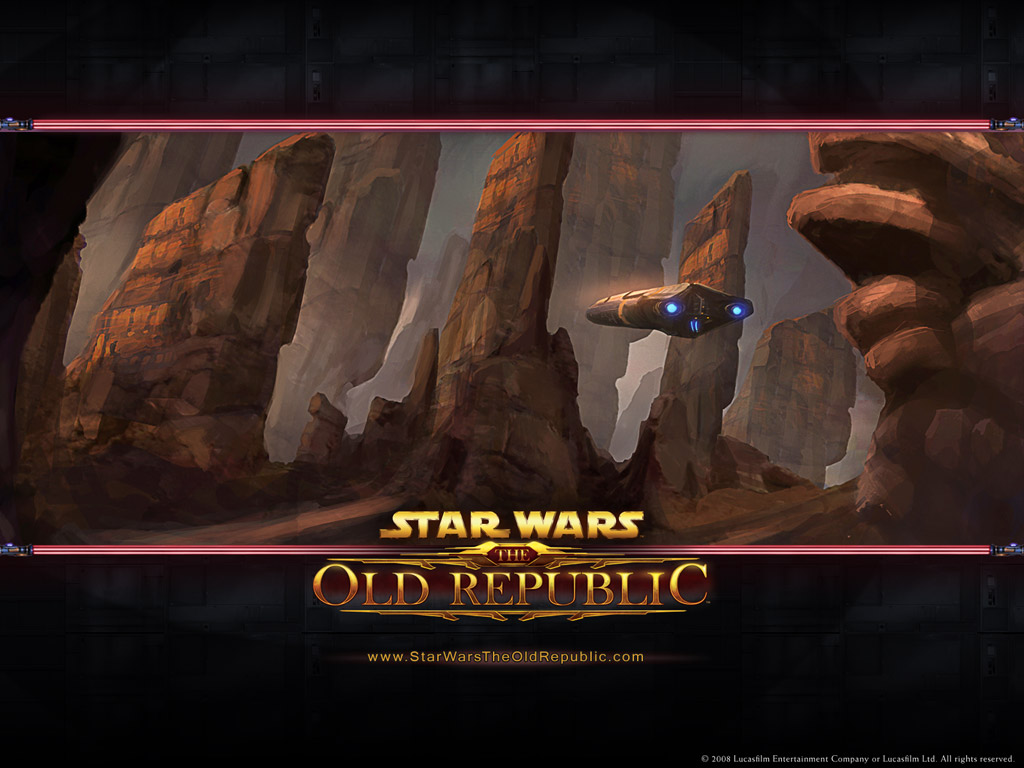 Star Wars The Old Republic Wallpapers SWTOR Leveling Guide 1024x768