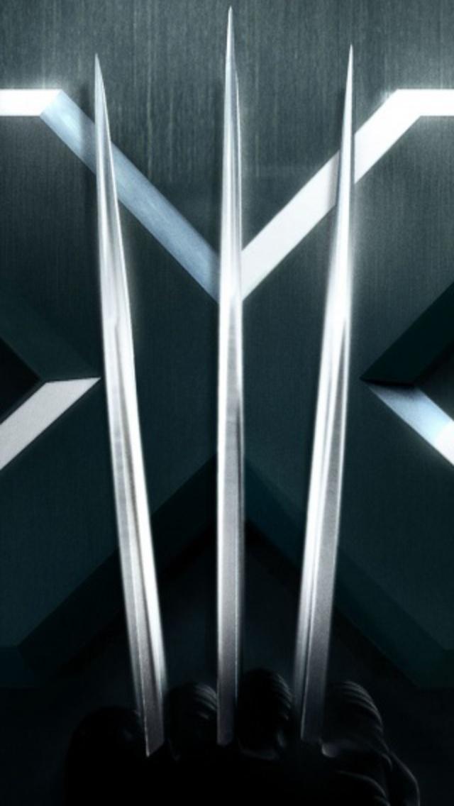 Men Logo Wallpaper x Men Movie Logo Iphone 640x1136