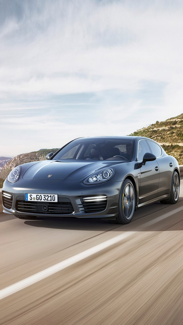2014 Porsche Panamera IPhone 5 Wallpaper And Background 640x1136