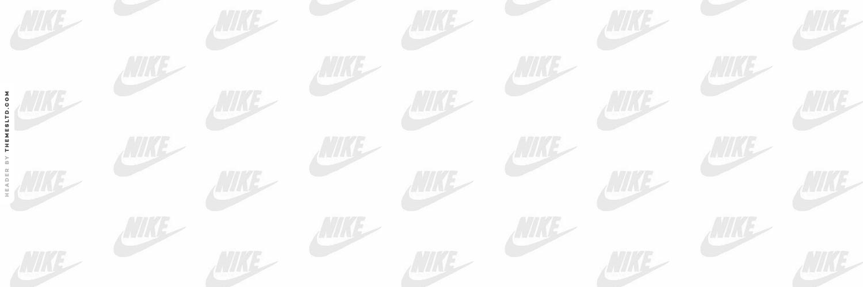 Nike White Background Grey nike logo askfm background   random 1500x500