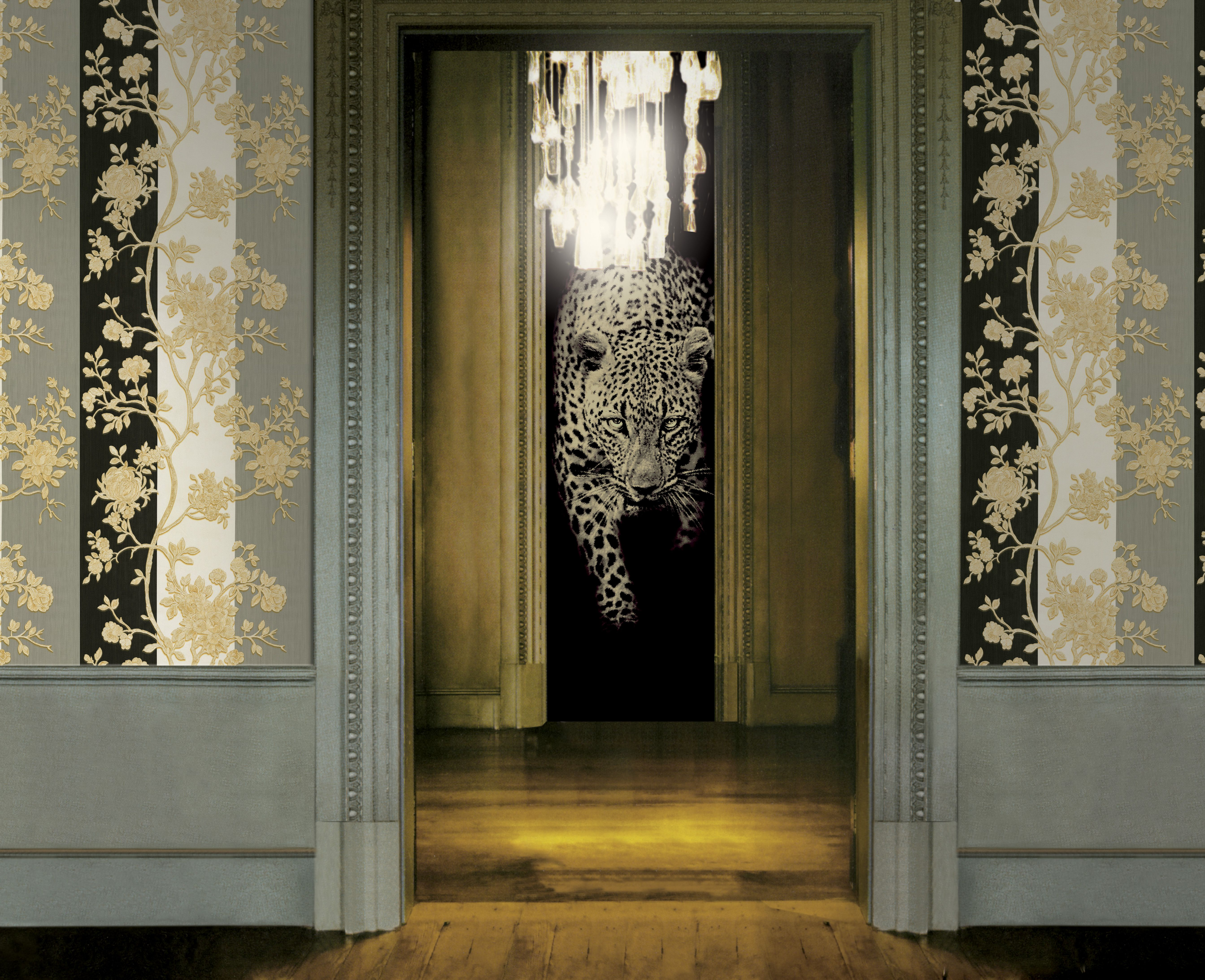 Wallcovering from Roberto Cavalli Goodrich Versace home Home 5374x4370