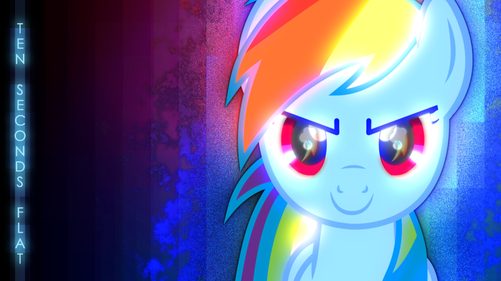 about rocking a rainbow dash wallpaper funny how it s no big deal 1024x576