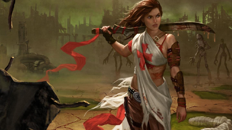 Women Warrior Computer Wallpapers Desktop Backgrounds 1440x810 ID 1440x810