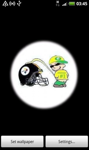View bigger   Packers Vs Steelers for Android screenshot 307x512