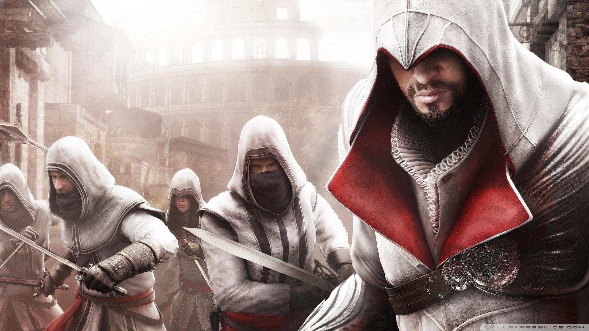 Free Download Assassins Creed Brotherhood 13 Wallpaper 1920x1080