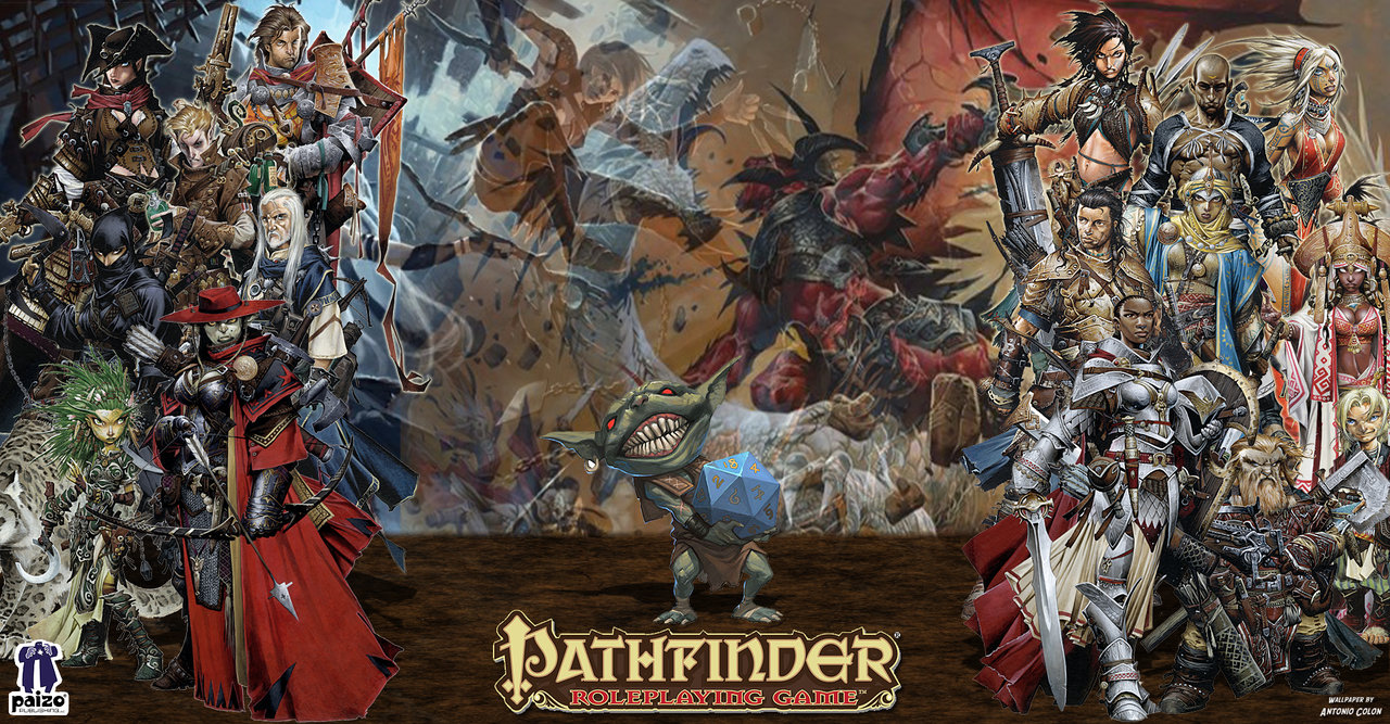 Paizos Pathfinder Wallpaper by AntonioColon 1280x667