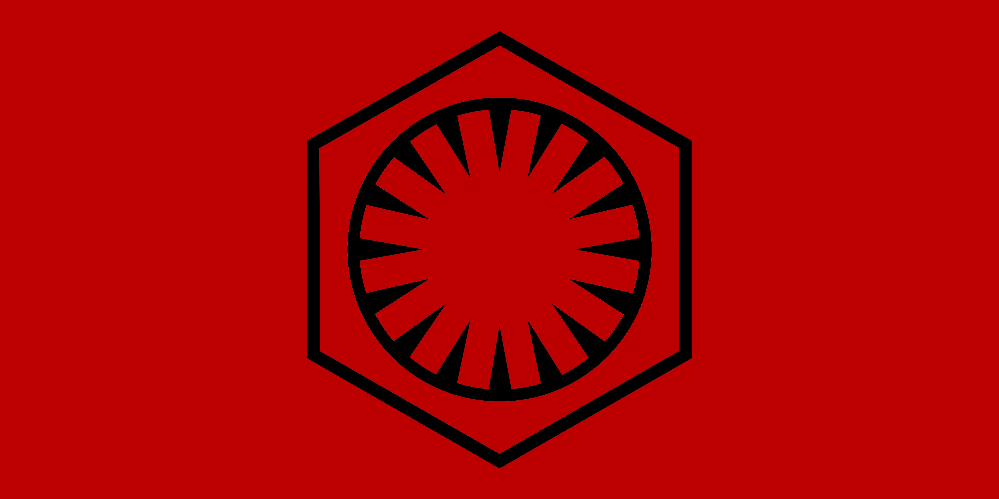 Flag of the First Order Star Wars VII by RedRich1917 4000x2000
