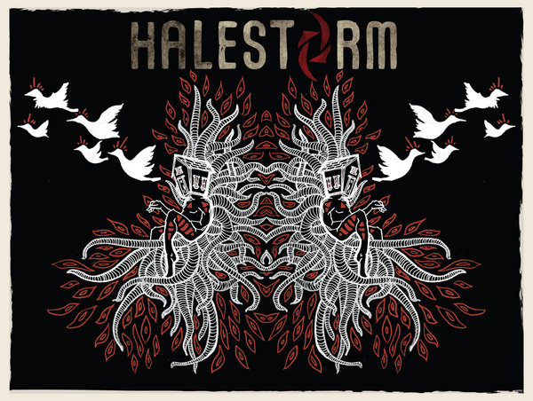 Back Gallery For Halestorm Logo Wallpaper 600x452