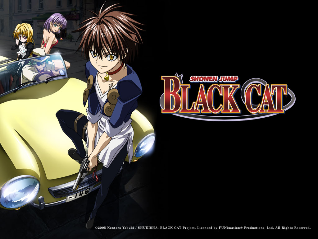Image Result For Black Cat Manga Wallpaper