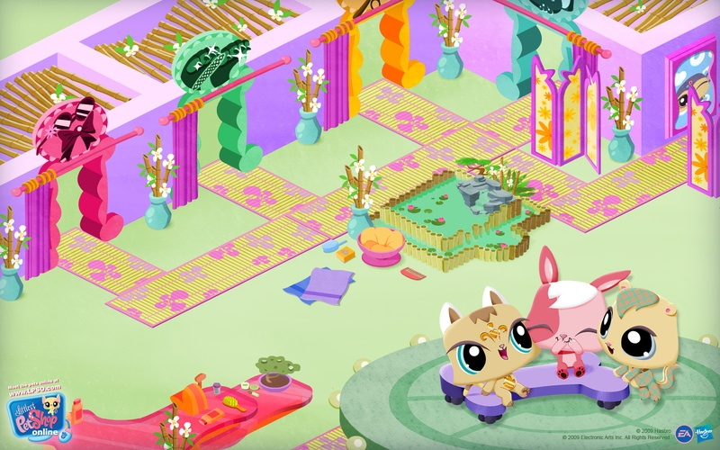 Wallpaper from LPSO 2   Littlest Pet Shop Online Codes 800x500