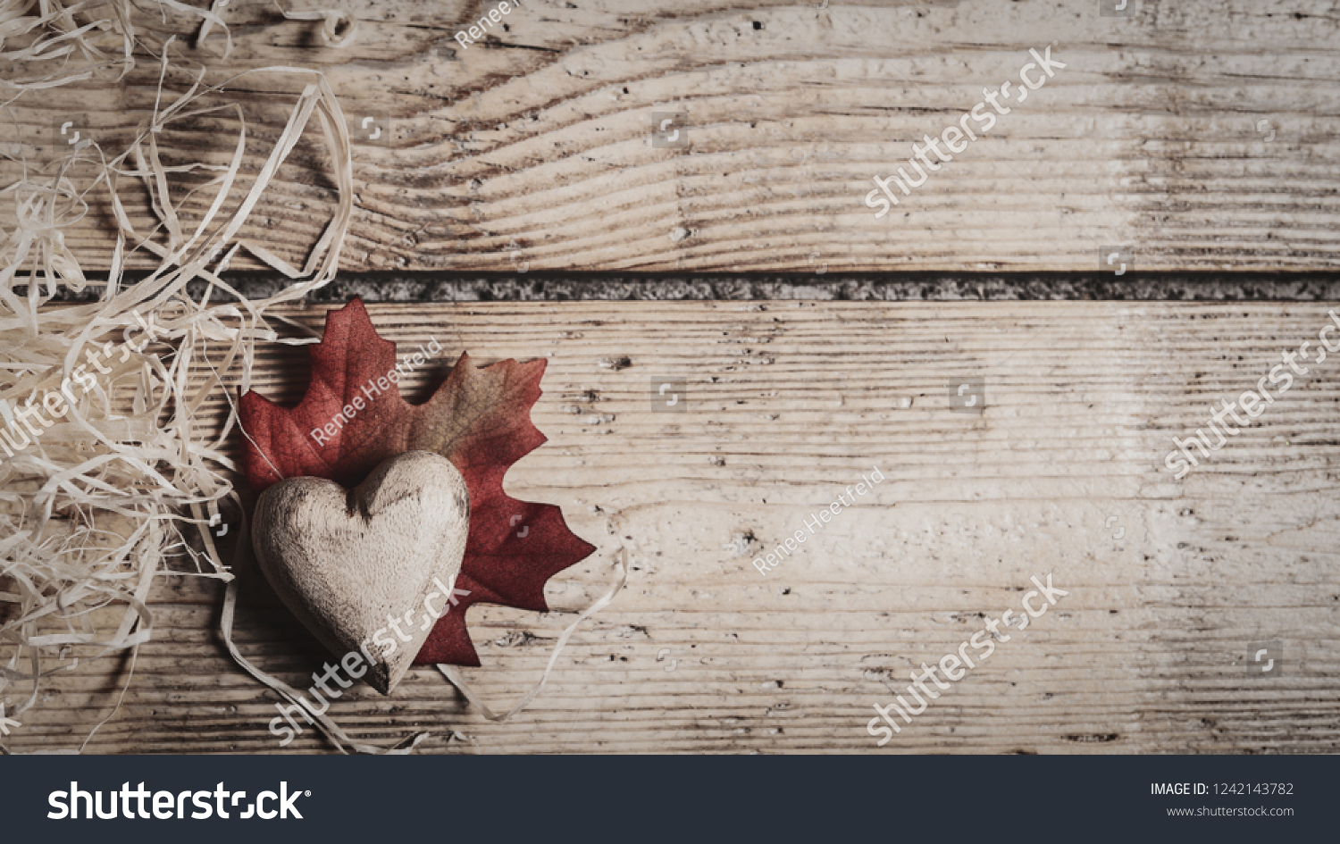 Thanksgiving Romatic Valentine Background Wood Heard Stock Photo 1500x945