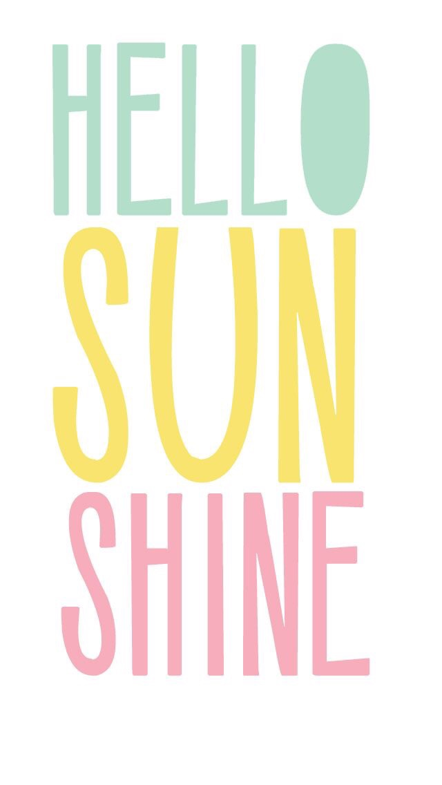 wallpaper background iphone android quote hello sunshine spring summer 640x1136
