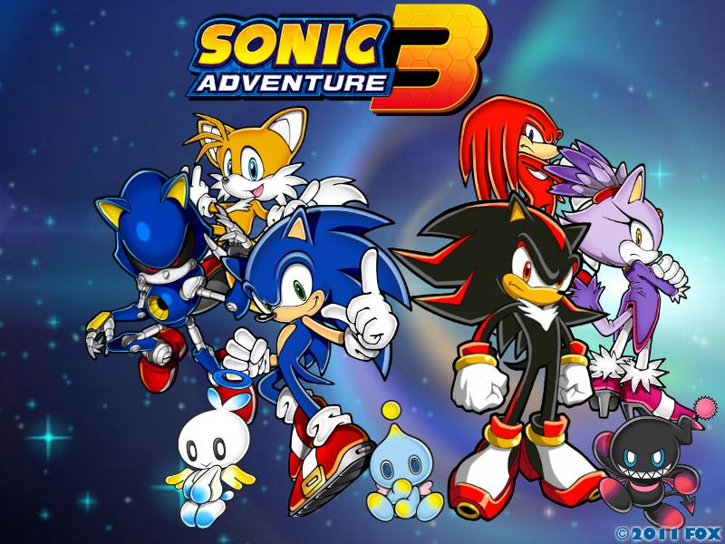 Free download Sonic Adventure 3 wallpaper by XxNinja