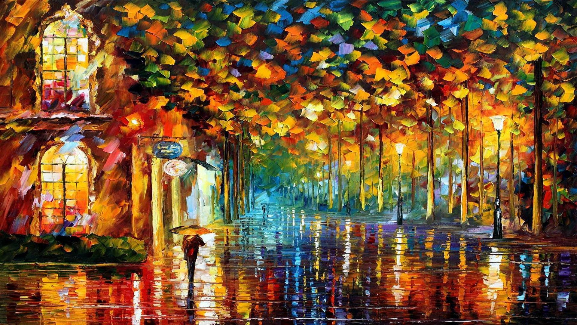 Free Download 50 Autumn Paintings Desktop Wallpapers Download At