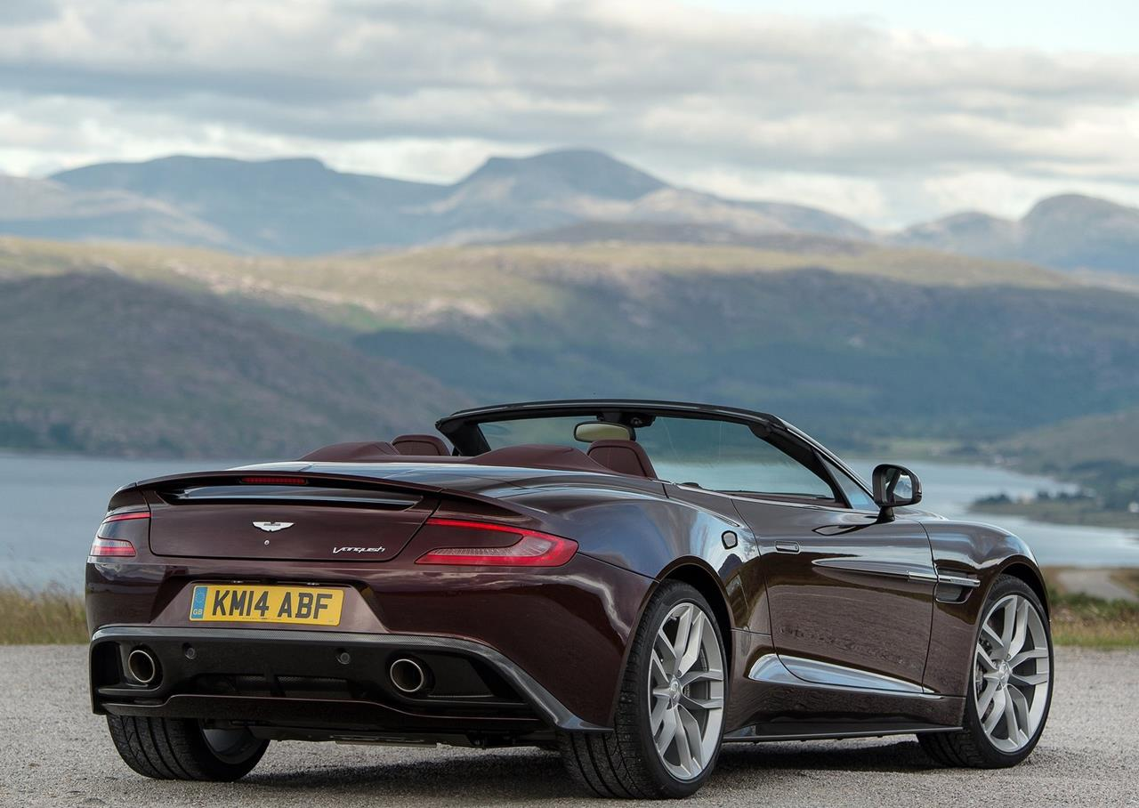 Aston introduce a new car Aston Martin Vanquish Volante for 2014 1280x908