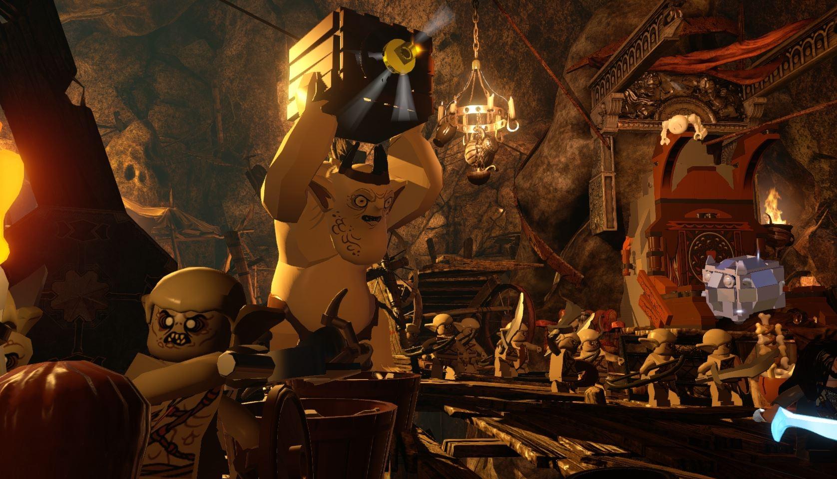Lego The Hobbit desktop wallpaper 2 of 15 Video Game Wallpapers 1676x960