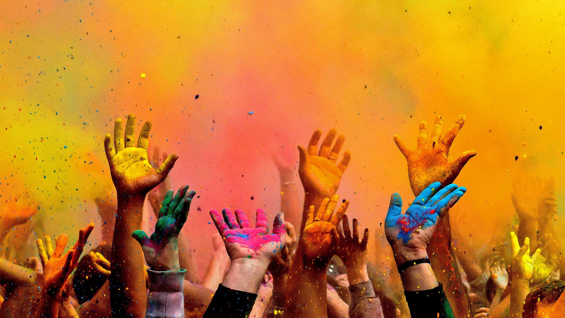 Holi Festival Spring Paint Hands   New HD Wallpapers 1920x1080
