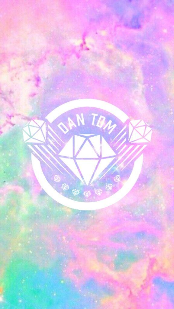 aesthetic DanTDM logo wallpaper DanTDM Wallpaper Tdm 576x1024