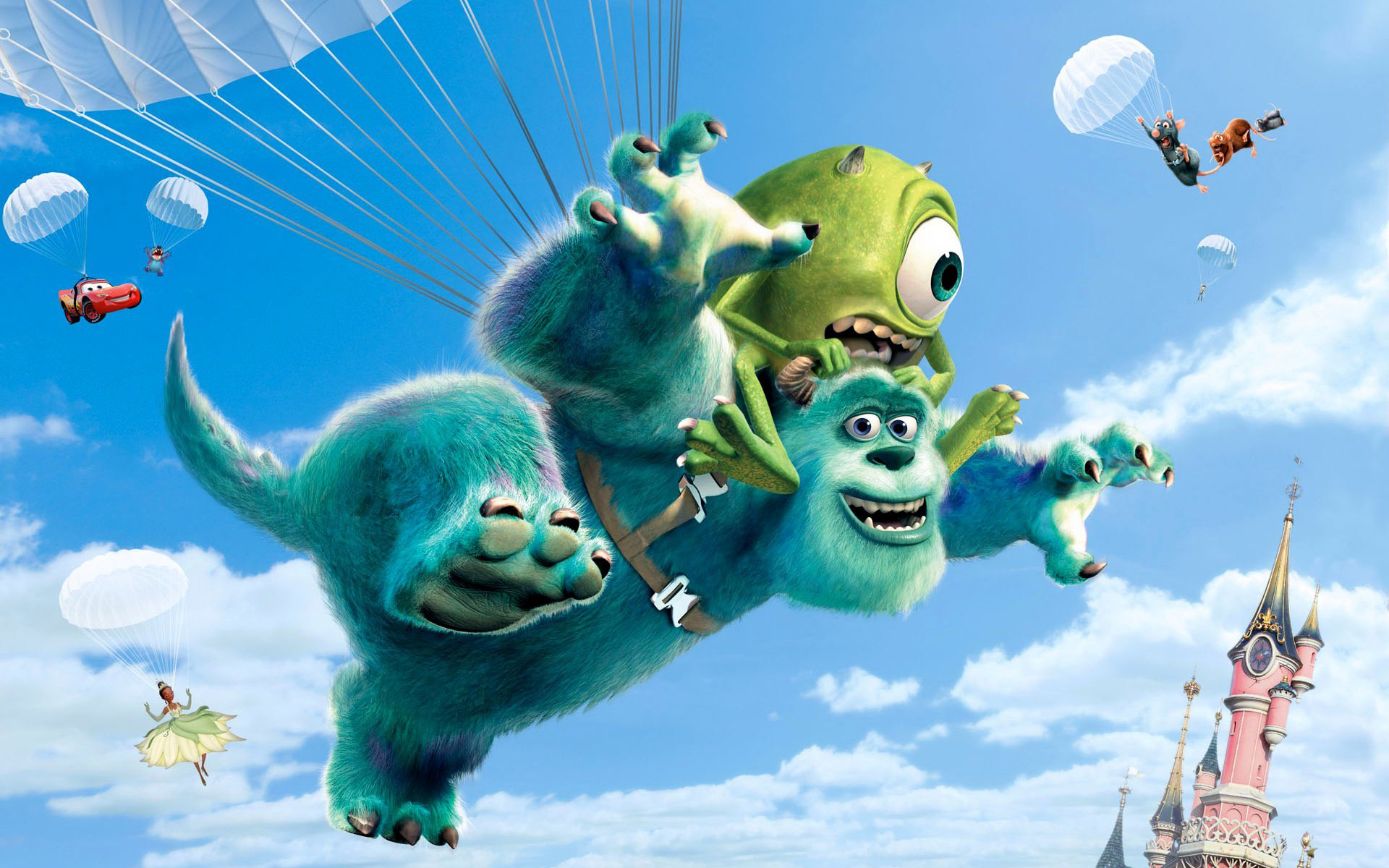 Disney Movies Monsters University Wallpapers HD Wallpapers 1920x1200