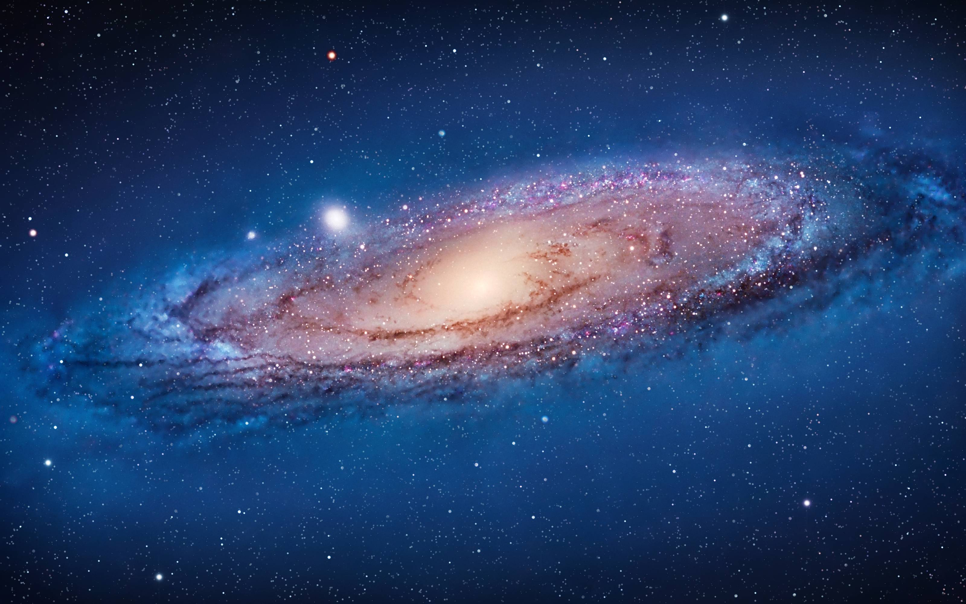 New Mac OS X Lion Galaxy of Andromeda Space Wallpaper from WWDC 3200x2000