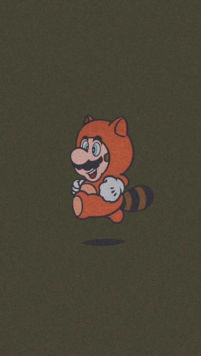 Mario Running iPhone 5 Wallpaper 640x1136 640x1136