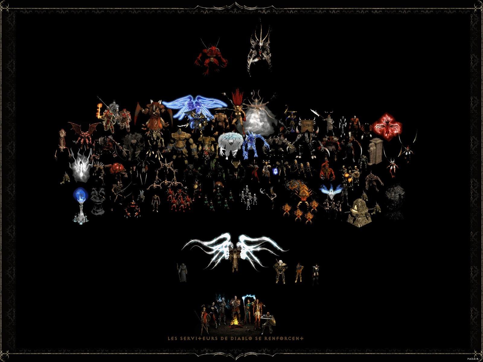 Diablo 2 wallpaper wallpapersafari - Diablo 2 lord of destruction wallpaper ...