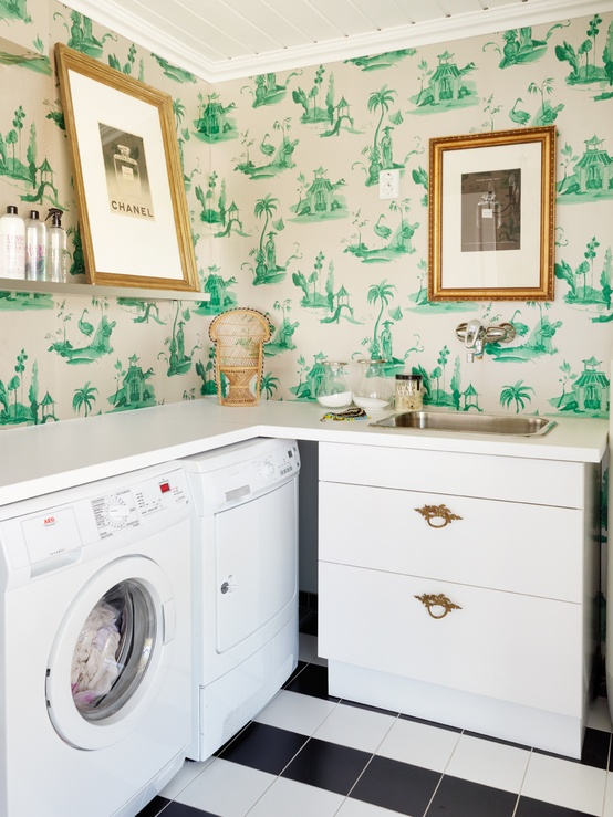 Wallpaper For Rooms Decoration Best Free Shipping D Wallpaper - Decorating laundry room eco style
