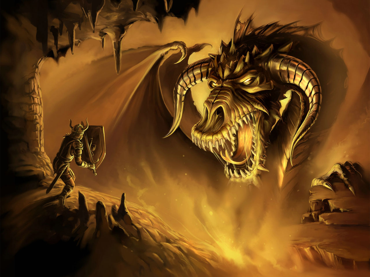 Dragon Slayer Wallpaper HD Backgrounds Images Pictures 1280x960