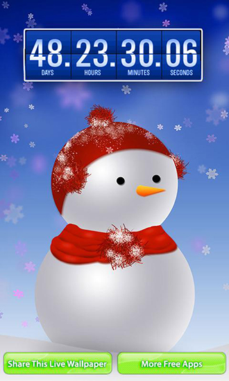 Christmas Countdown Android 330x550