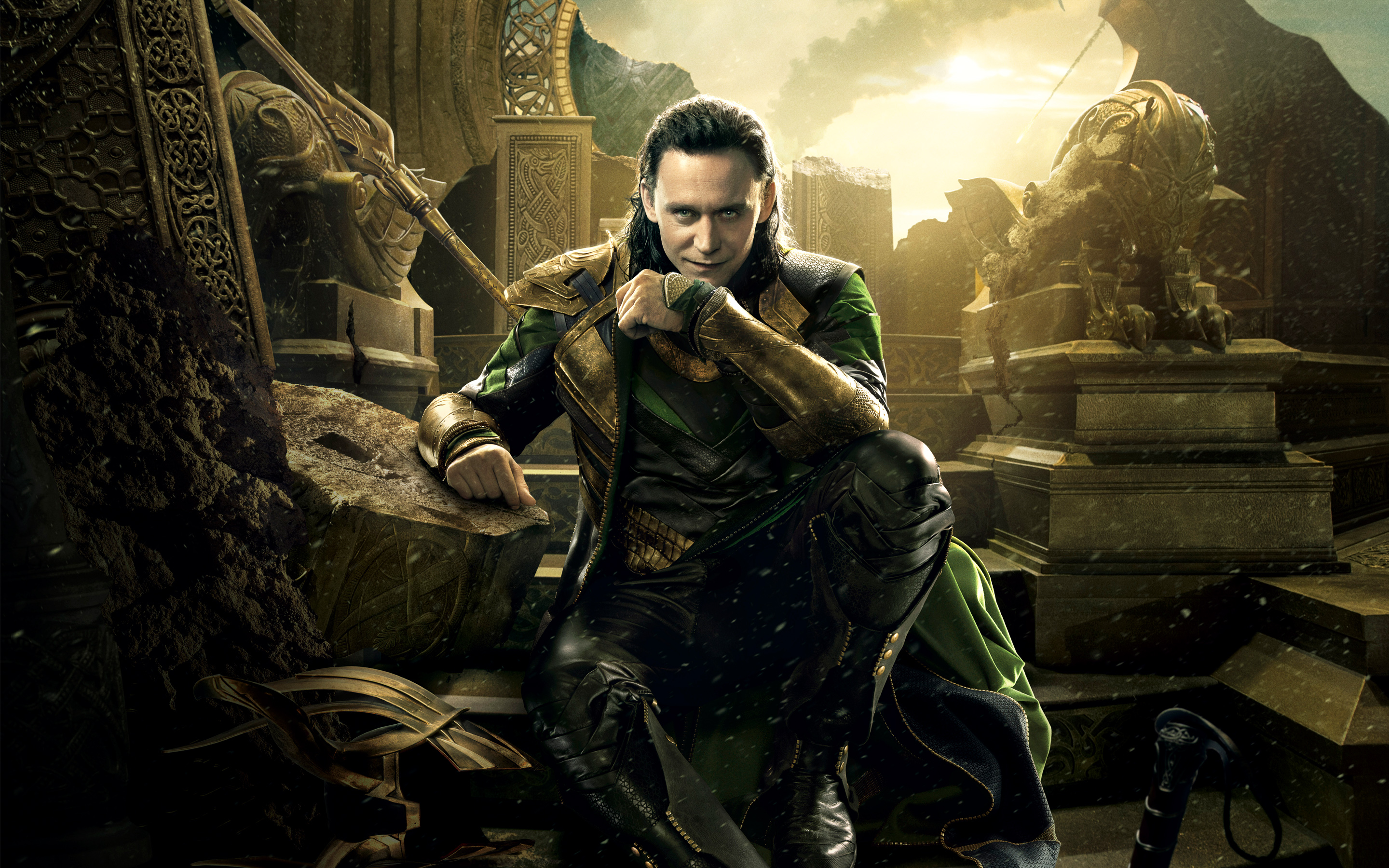 Loki in Thor 2 Wallpapers HD Wallpapers 2880x1800
