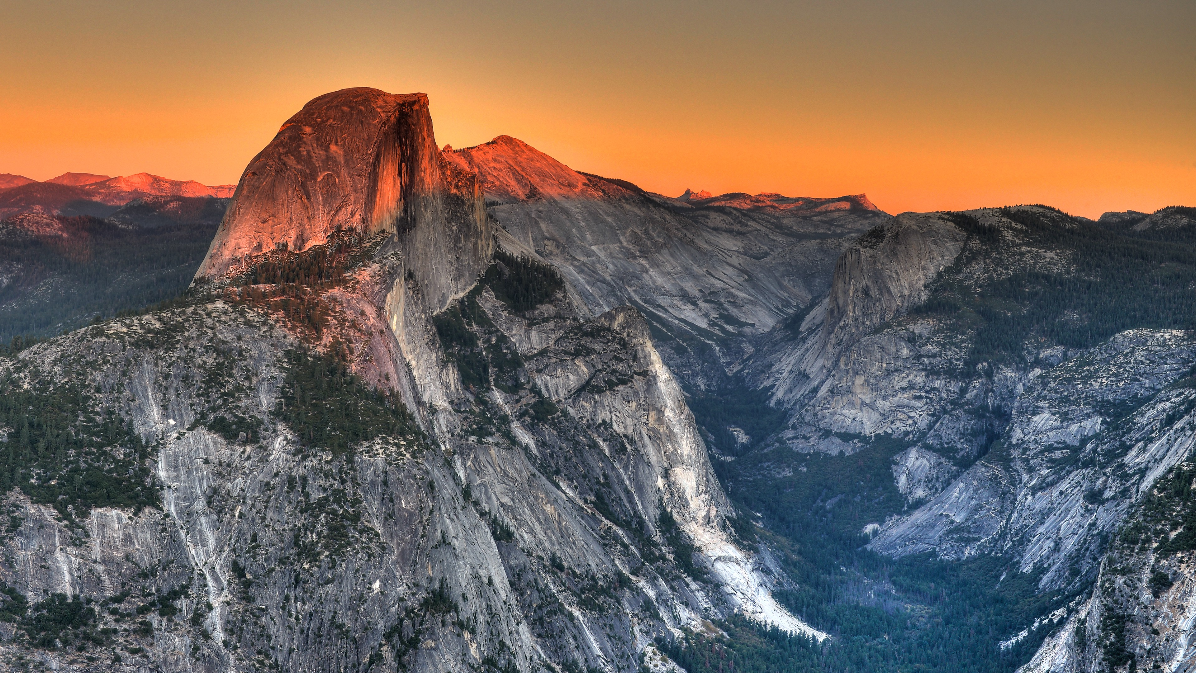 Yosemite National Park Landscape Wallpapers HD 3840x2160