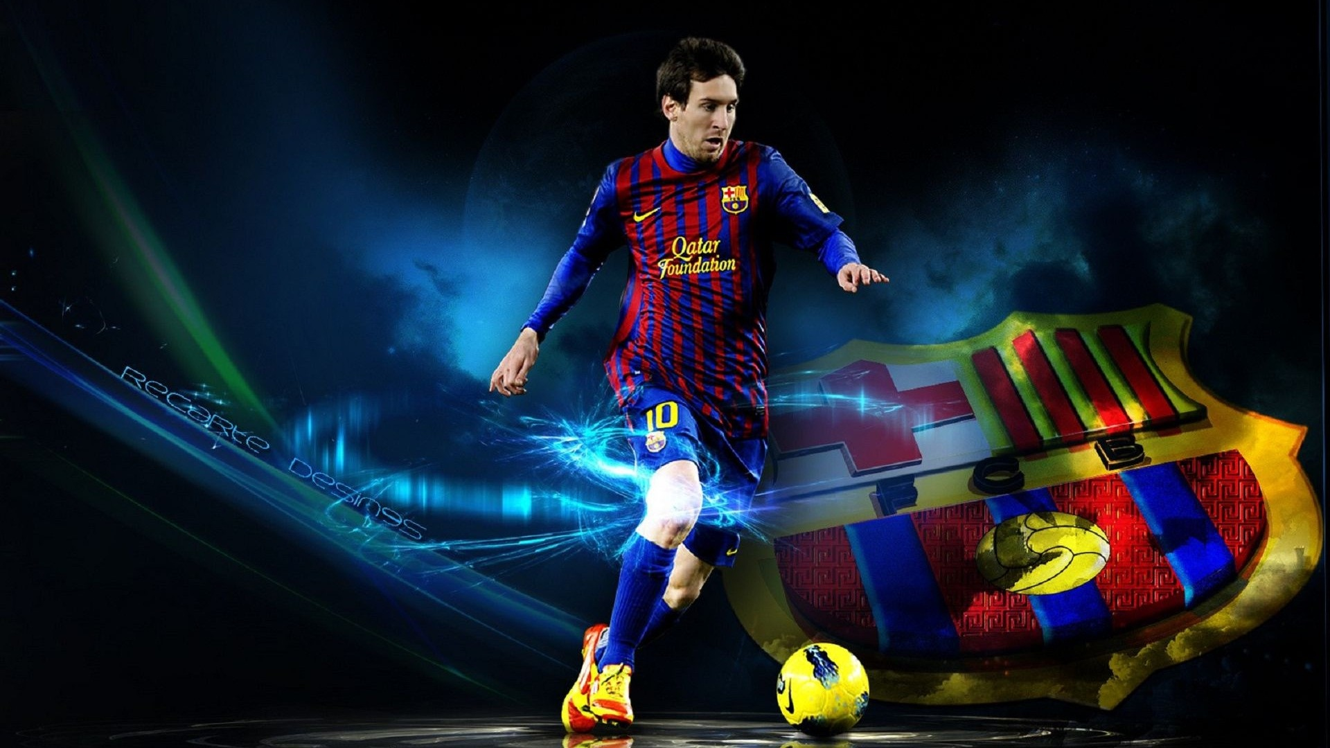 lionel messi new wallpaper | HD Wallpapers Rocks