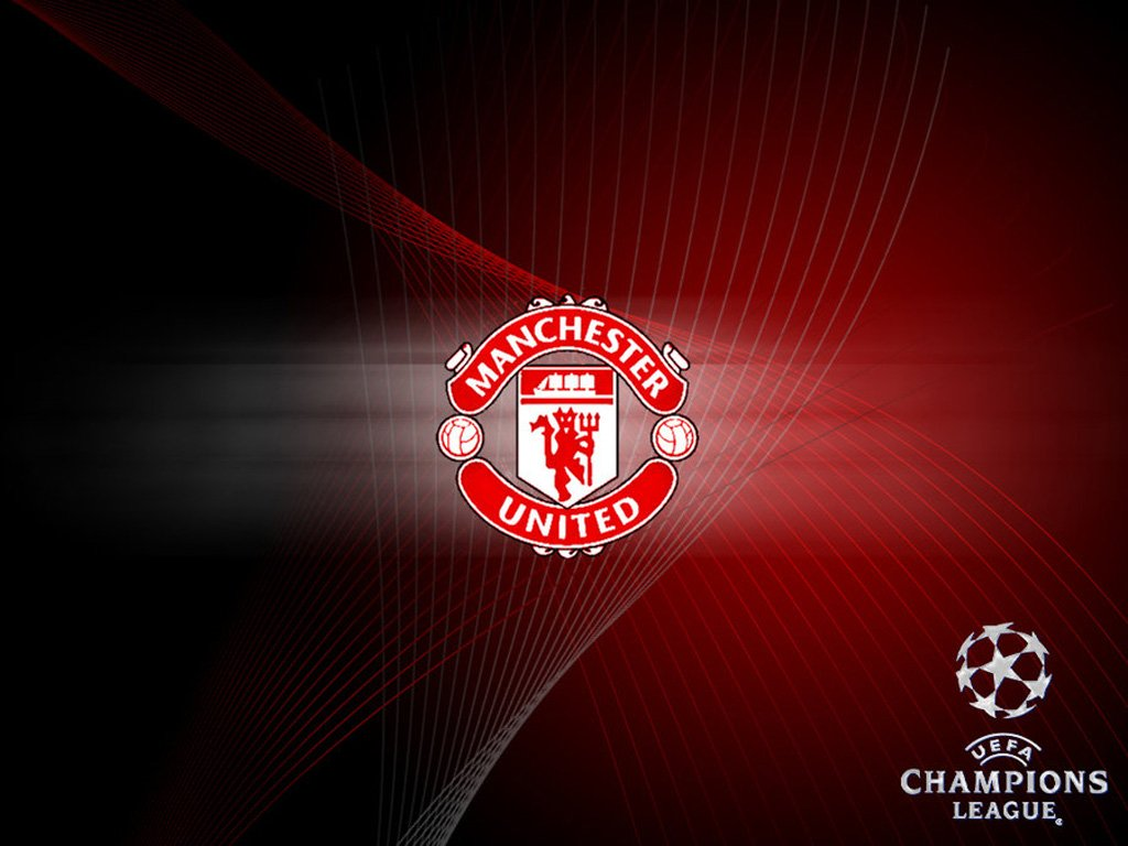 wallpaper android phone Manchester United Champions League Wallpaper 1024x768