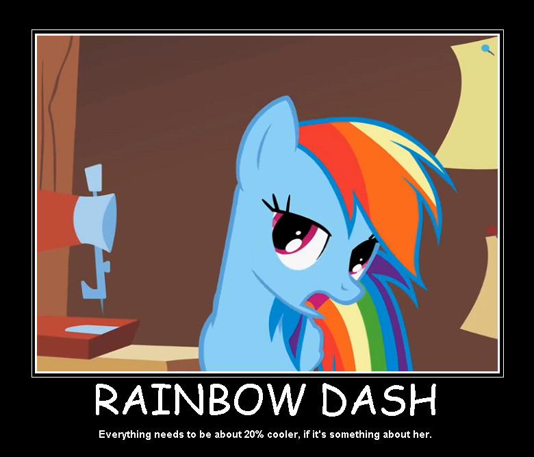 20 Cooler Rainbow Dash by 20izumi 780x667