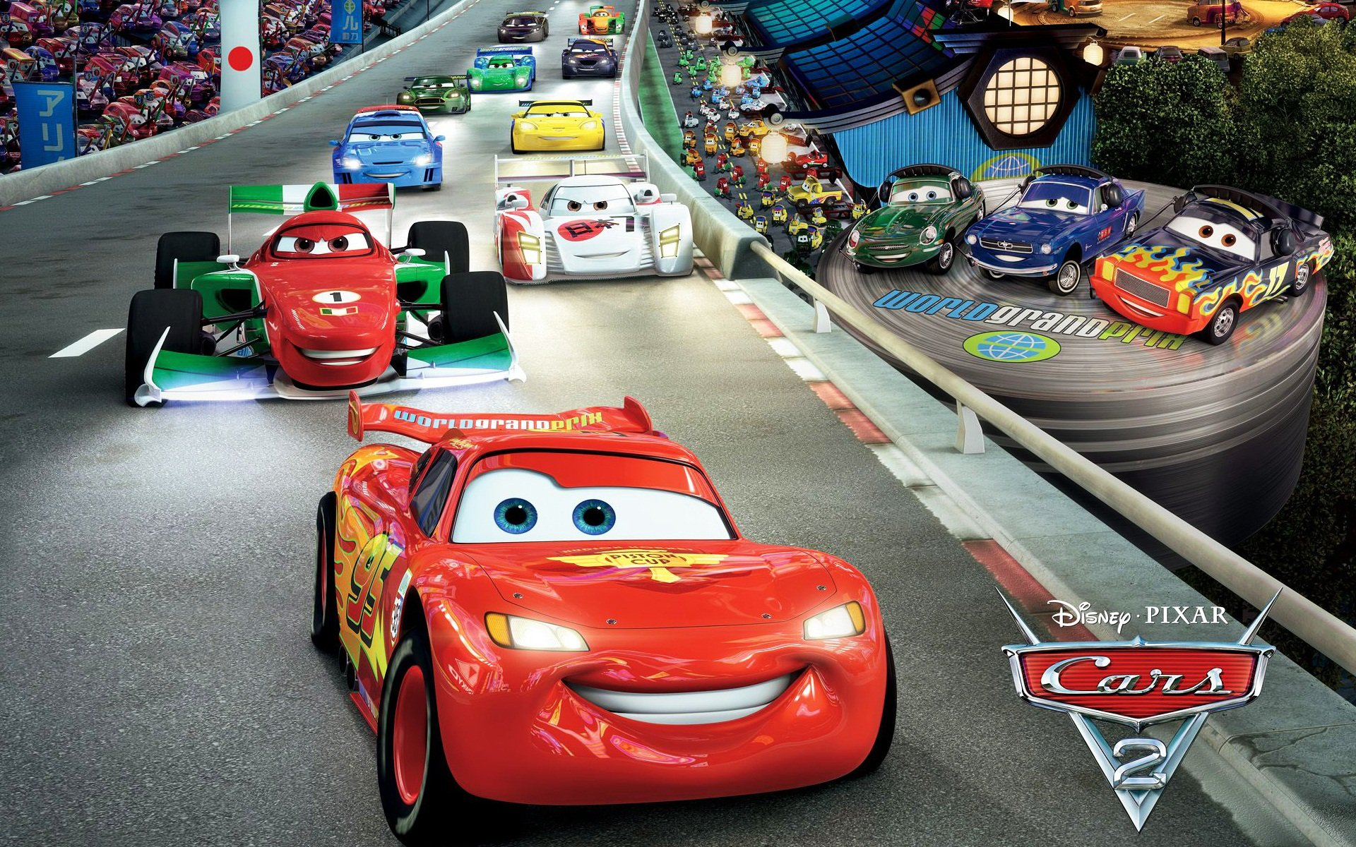 Disney Pixar Cars 2 images Cars 2 HD wallpaper and background photos 1920x1200