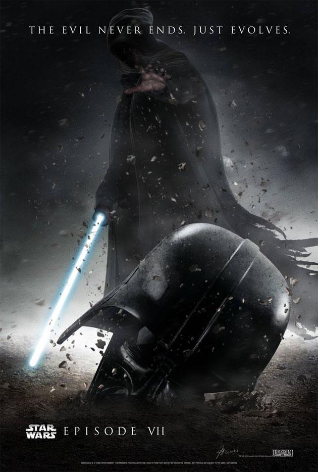 Star Wars Episode 7 Official Poster   wallpaper 630x934