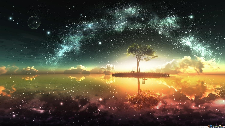 Beautiful Anime Scenic Wallpaper by darkluffyd4   Meme Center 1500x856