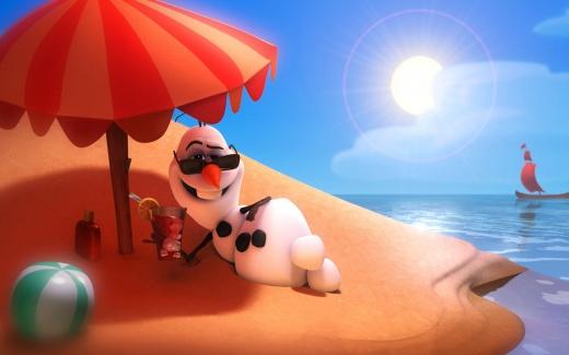 Disney Frozen Olaf HD Wallpaper   iHD Wallpapers 520x325