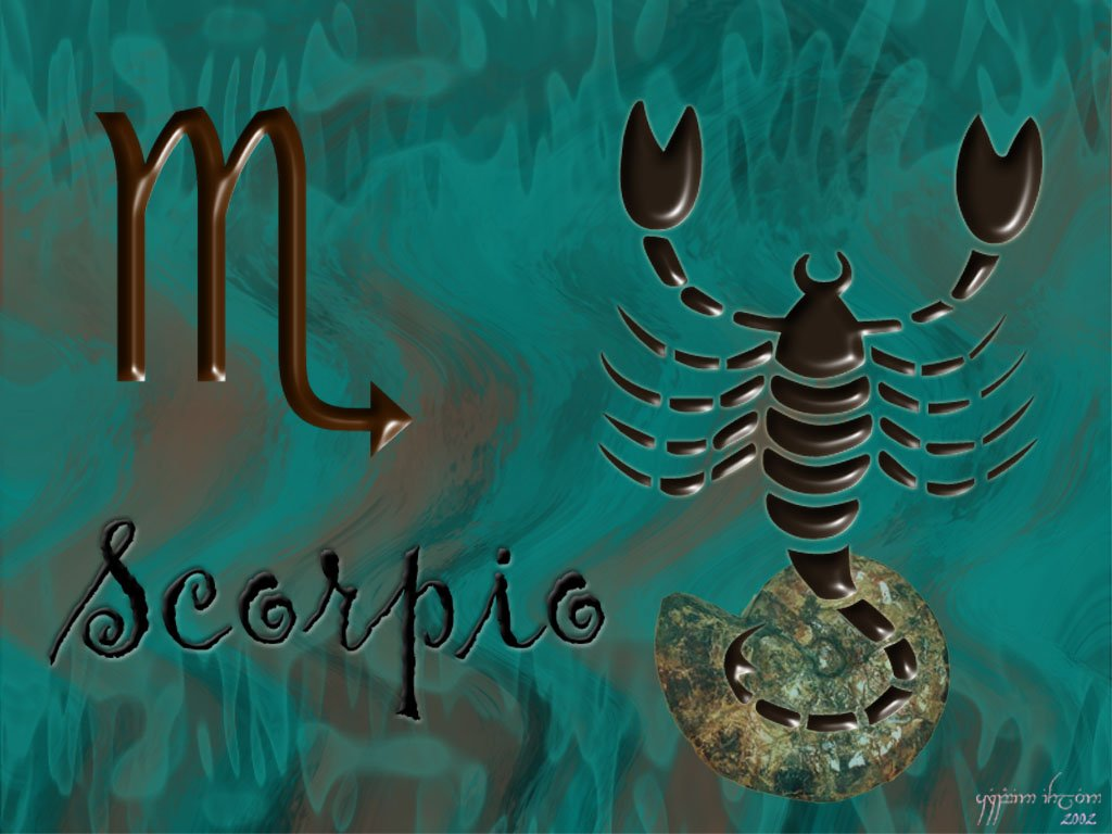 Best Wallpapers Sign Scorpion Wallpapers 1024x768